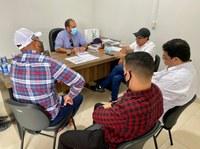 Presidente Laerte Gomes visita prefeito de Ouro Preto do Oeste, Alex Testoni