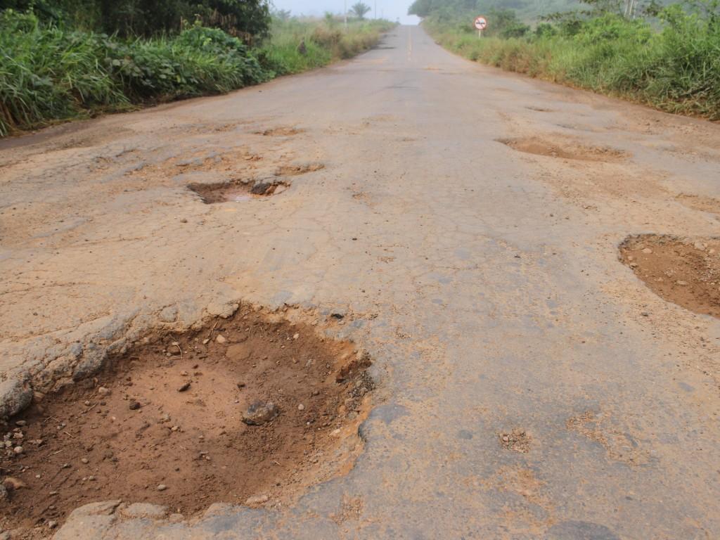 Obras de recuperação na BR-429 que liga seis municípios de Rondônia serão reiniciadas em maio