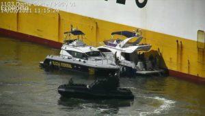 Polícia Federal realiza apreensão de entorpecente em casco de navio