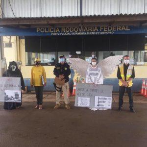 Educação para o Trânsito: PRF, Ciretran e Semtran realizam evento de conscientização em Pimenta Bueno/RO