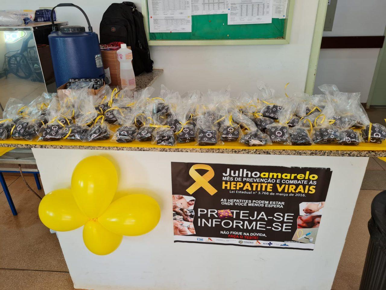 """Rondônia lança campanha """"Julho Amarelo"""" no baixo Madeira e em comunidade de quilombola do Vale do Guaporé"""