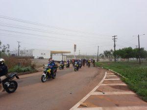 Passeio ciclístico em celebração à Semana Nacional de Trânsito aconteceu na Capital